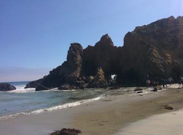 Pfeiffer Beach.